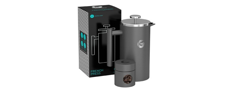coffee gator's vacuum insulated cafetiere system