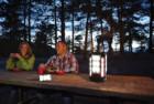 coleman 4 panel led lantern