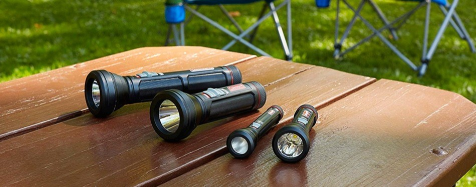 coleman battery guard led flashlight