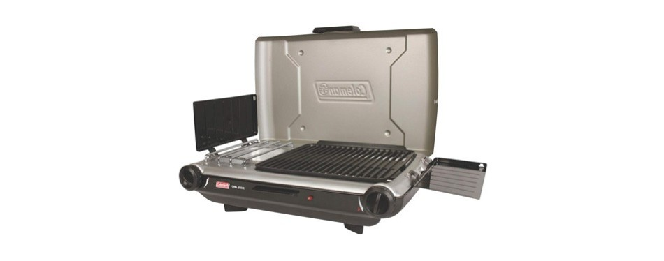 coleman camp propane camping grill