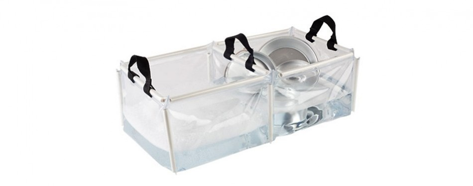 coleman double wash basin