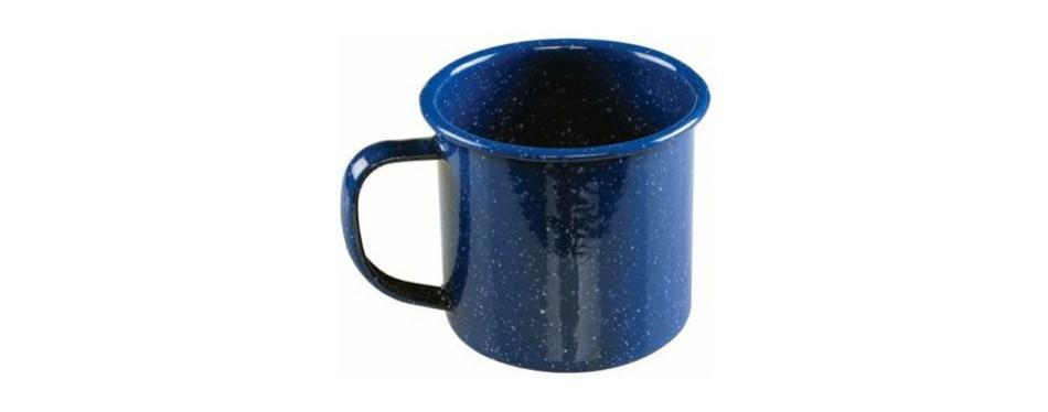 coleman enamel camping mug