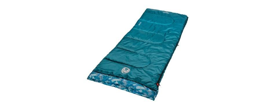 coleman plum fun 45 degree kids sleeping bag