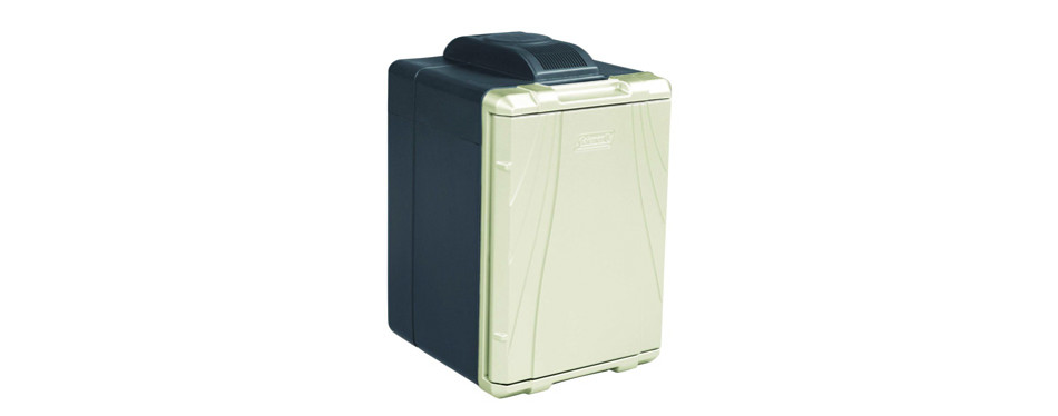 coleman powerchill hot/cold portable thermoelectric cooler