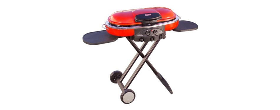 coleman road trip lxe camping grill