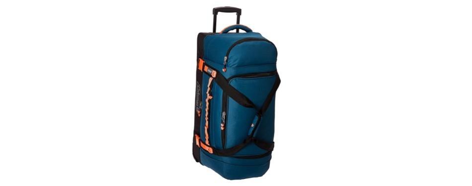 coleman tactical gear drop bottom rolling duffel bag