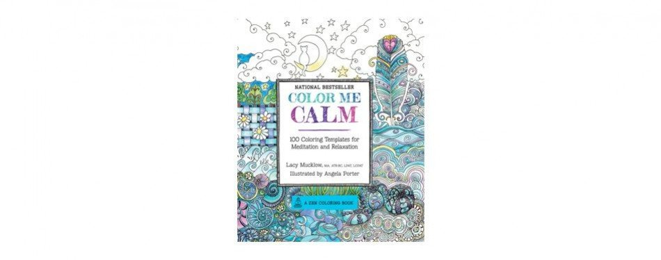 color me calm: a zen coloring book