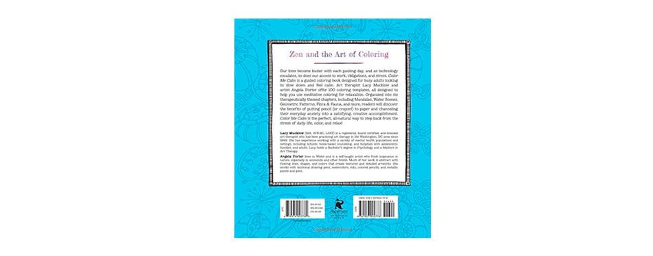 color me calm: a zen coloring book