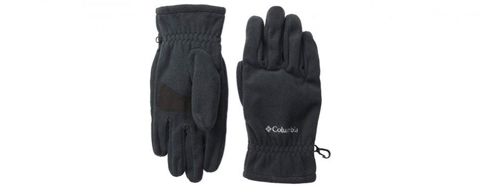 columbia fast trek fleece hiking gloves