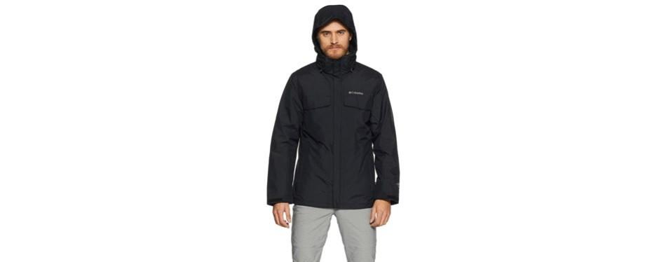 columbia sportswear bugaboo interchange ski jacket
