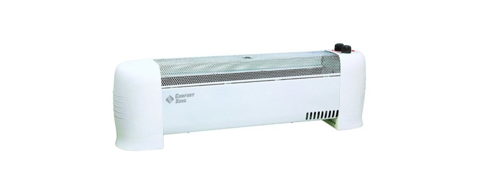 comfort zone convection baseboard heater