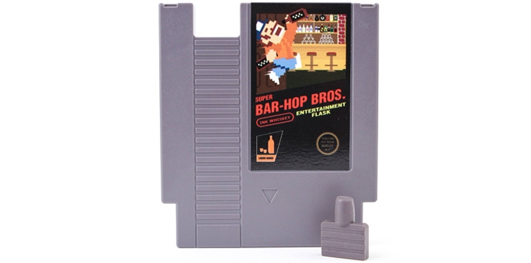 Concealable NES Entertainment Flask