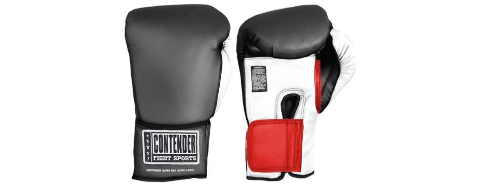 contender fight sports' muay thai gloves