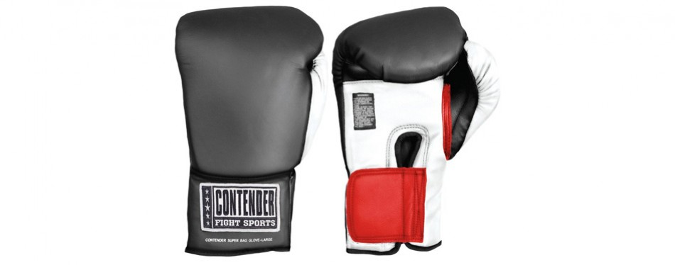contender fight sports' muay thai gloves