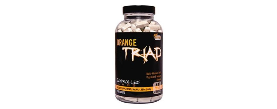controlled labs orange triad multivitamins for men