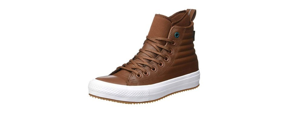 converse unisex chuck taylor leather top sneakers