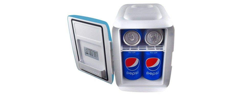 cooluli electric cooler and warmer mini fridge