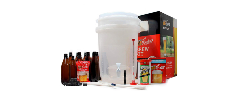 coopers diy home brewing kit