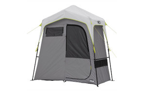 core instant camping utility shower tent