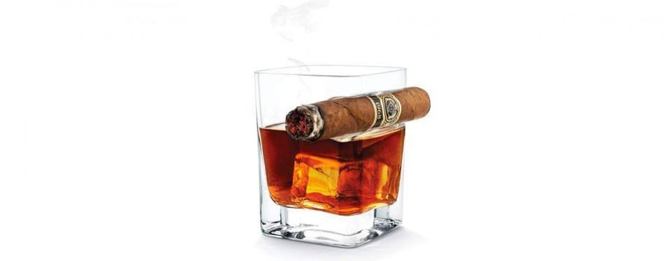 corkcicle cigar whiskey glasses