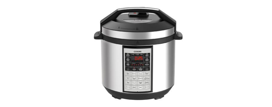 corosi six quart multi functional slow cooker