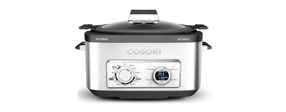 cosori six quarts programmable slow cooker