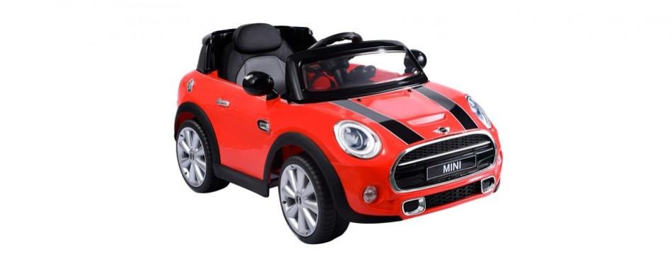 costzon licensed bmw mini cooper electric car