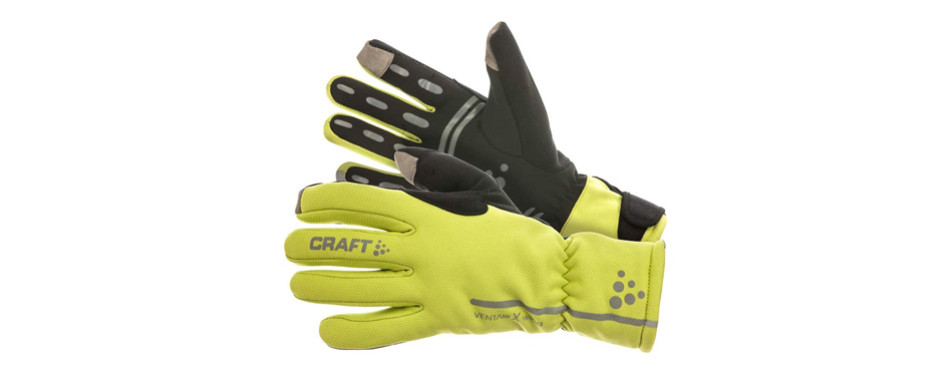 craft sportswear siberian glow gloves