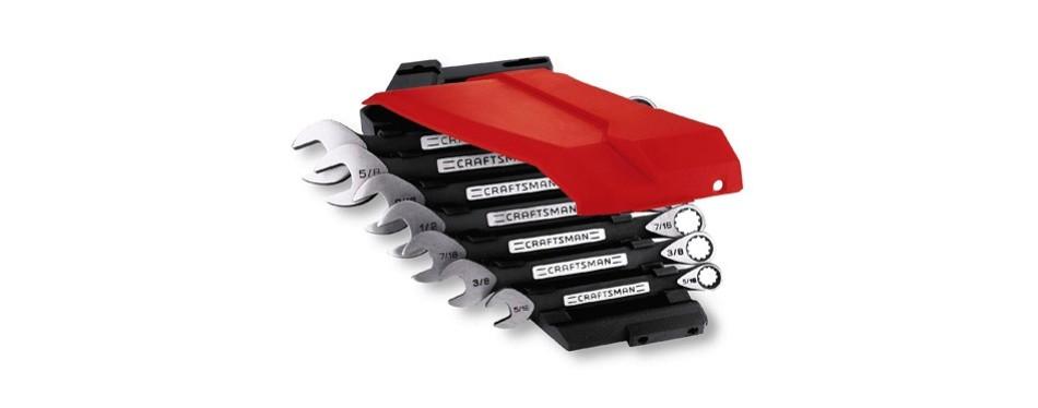craftsman 914018 7 pieces universal wrench set