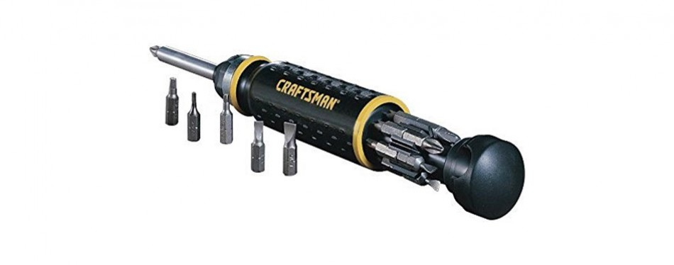 craftsman ratcheting ready bit screwdriver