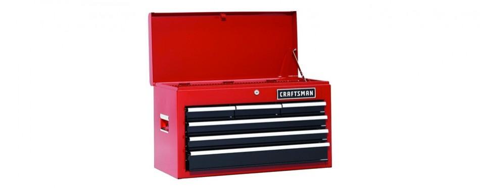 craftsman six-drawer steel tool chest