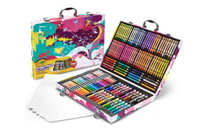 crayola inspiration art case coloring set