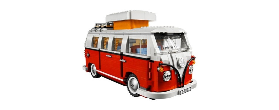 creator expert volkswagen t1 camper lego set