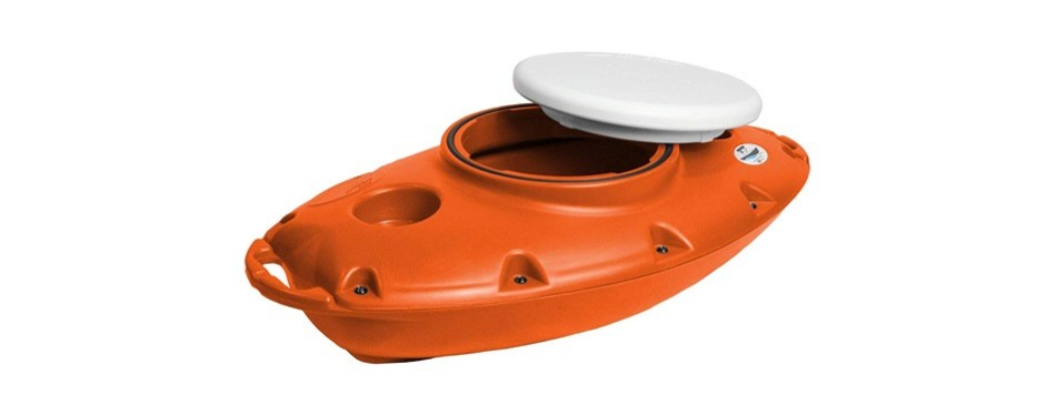 creekkooler pup 15 quart floating towable cooler