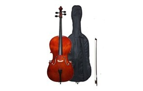 crescent 4/4 beginner cello starter kit