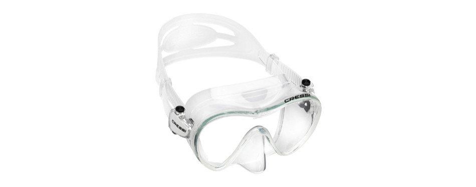 cressi f1 frameless diving mask