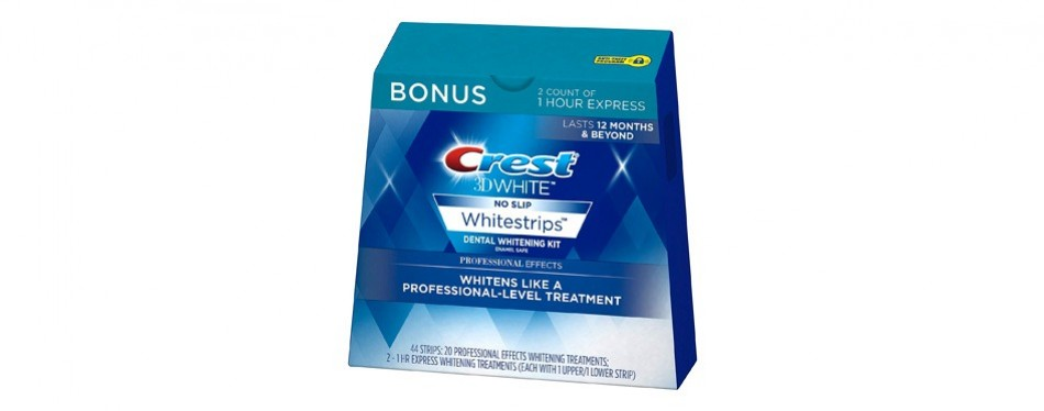 crest 3d teeth whitening kit professional effects
