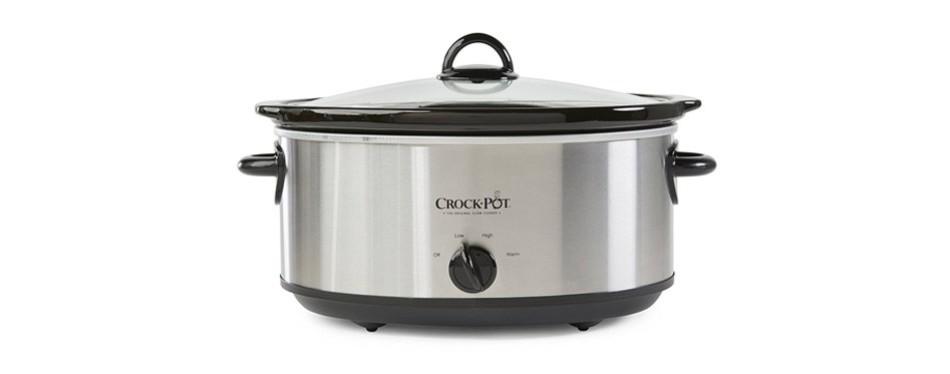 crock-pot manual steel 7-quart cooker