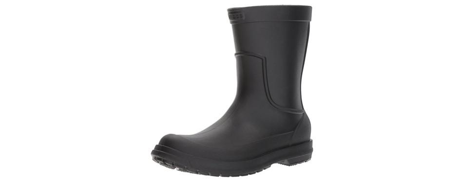 crocs allcast waterproof rain boots for men