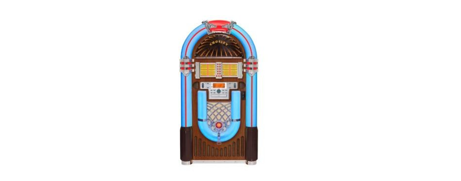 crosley full size ijuke bluetooth jukebox