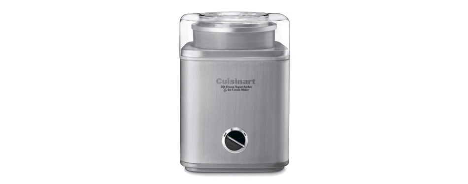 cuisinart pure indulgence frozen yogurt, sorbet, and ice cream maker