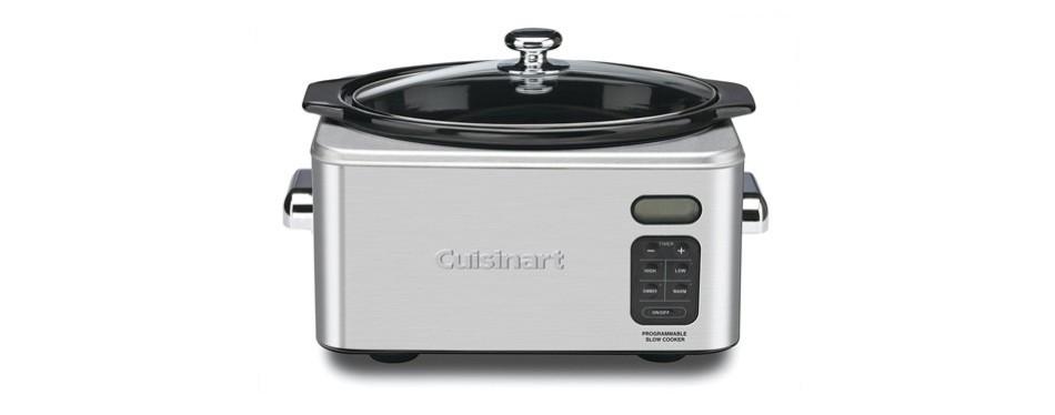 cuisinart stainless steel programmable slow cooker