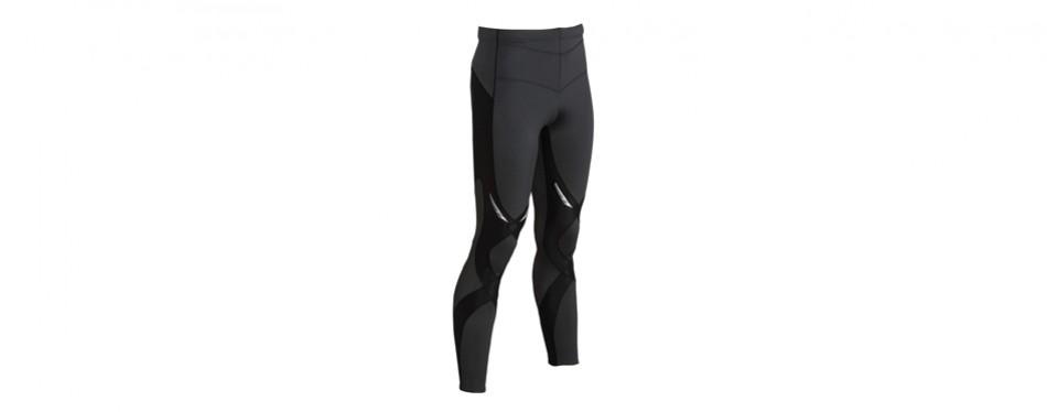 cw-x men's stabilyx high-performance compression sports tights