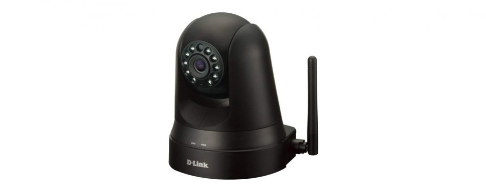 d-link dcs pan-and-tilt wi-fi camera