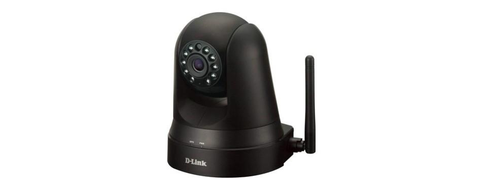 d-link dcs pan-and-tilt wi-fi camera