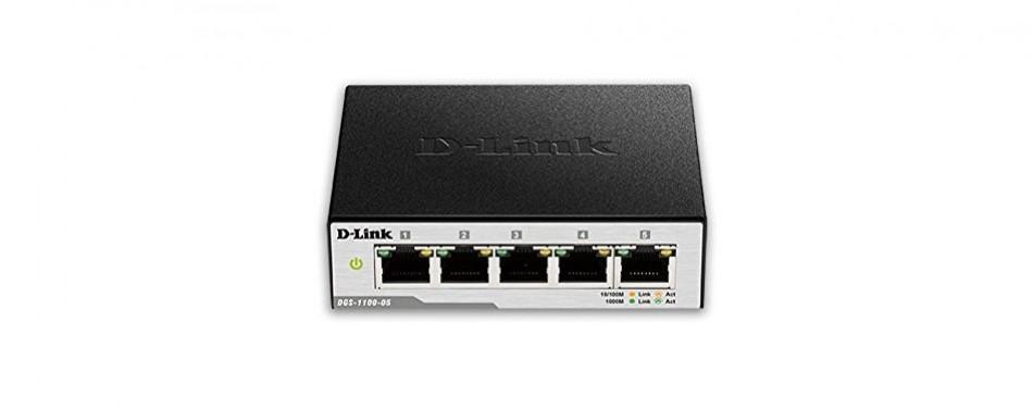 d-link easysmart gigabit ethernet switch dgs-1100-05
