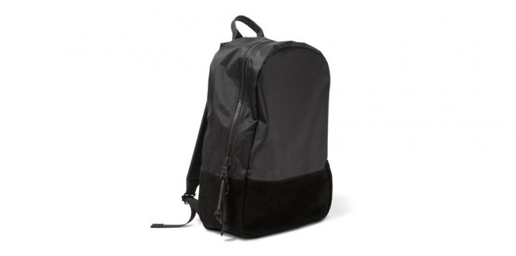 Killspencer Black Nylon Backpack