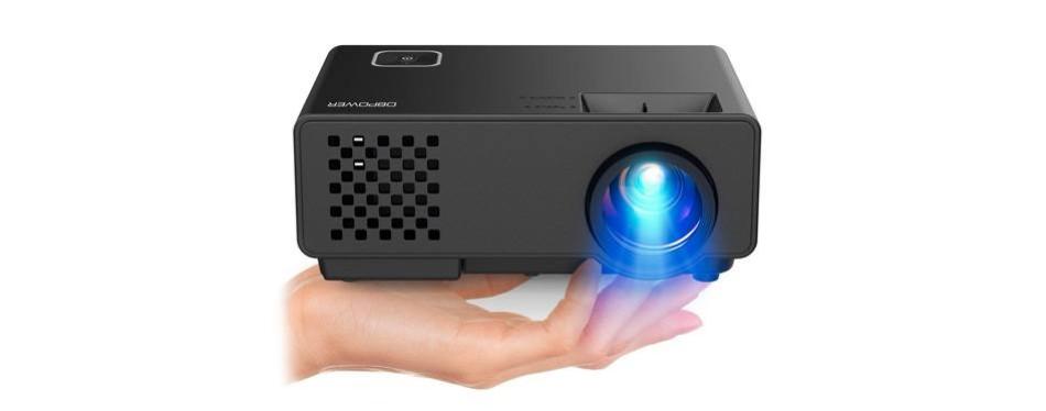 dbpower mini portable video mini projector