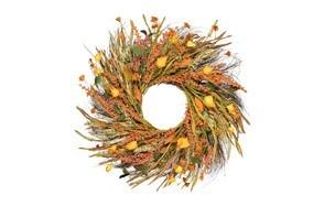dearhouse fall grain wreath fall decor