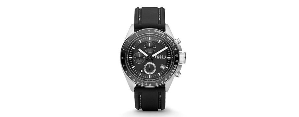 decker stainless steel watch